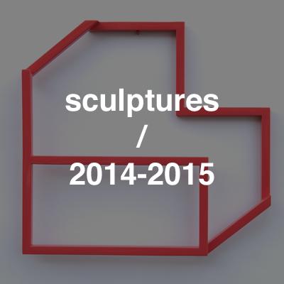 sculptures 2014-2015